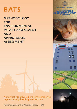 Bats - methodology for environmental impact assessment and appropriate assessment