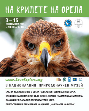 BSPB and the National Museum of Natural History present an interactive exhibition of the Imperial Eagle (c) NMNHS