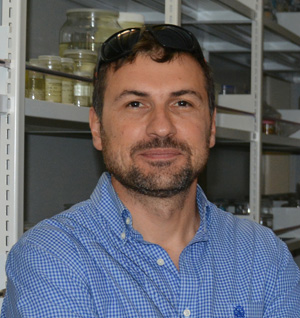 Prof. Dr Pavel Stoev, zoologist, curator of non-insect invertebrates collections. Photo: (c) S. Abadjiev